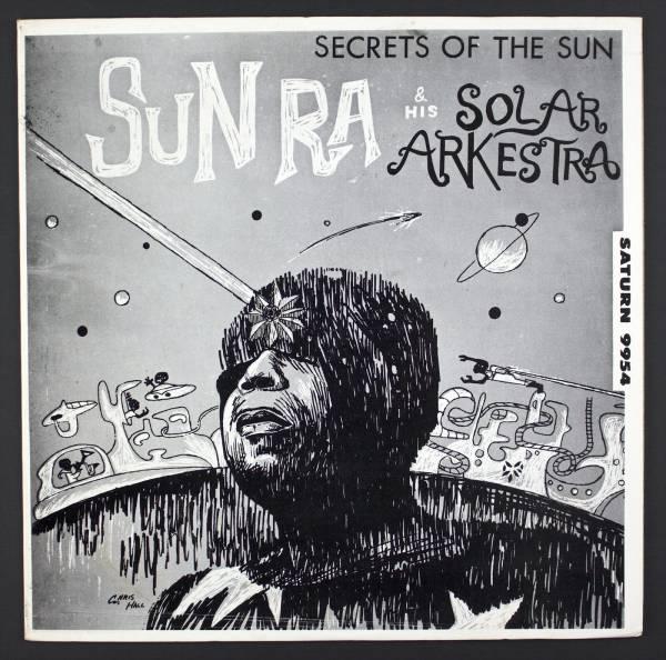 SUN RA Secrets Of The Sun LP El Saturn 9954 Rare Cosmic Jazz Original M