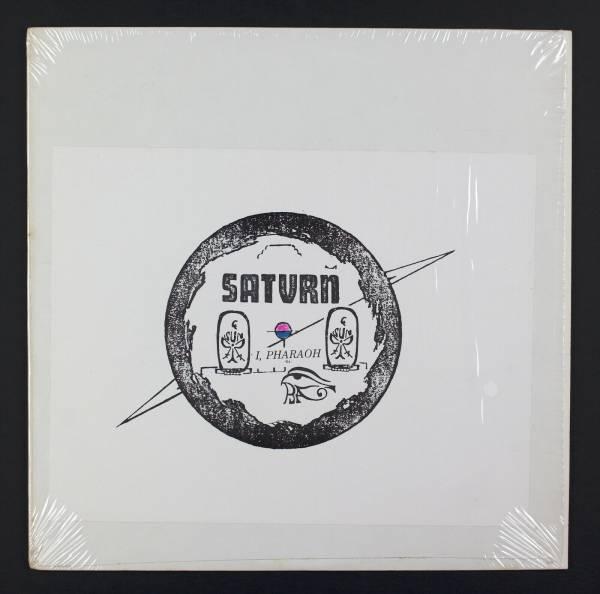 SUN RA I  Pharaoh LP Saturn 6680 Rare Cosmic Jazz Original Paste On Art M