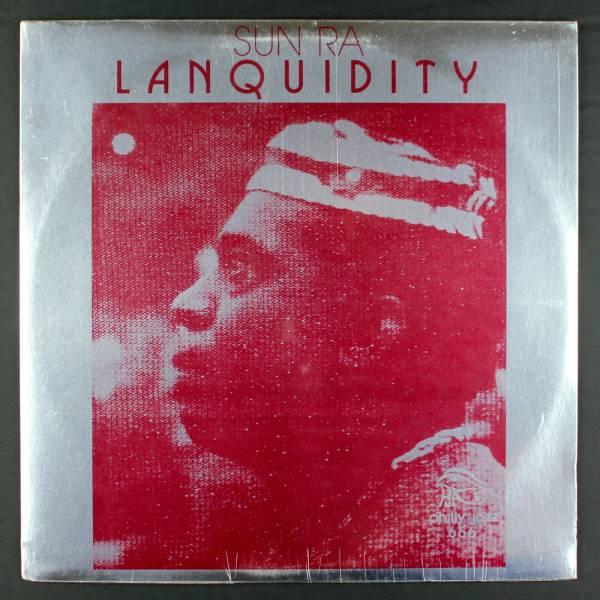 SUN RA Lanquidity LP Philly Jazz 666 Rare Cosmic Jazz Funk Original Sealed
