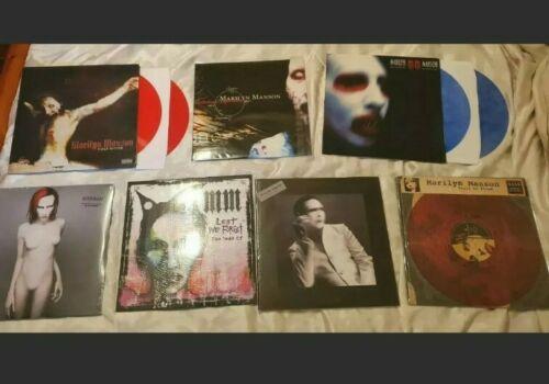 Marilyn Manson Lp Vinyl Lote