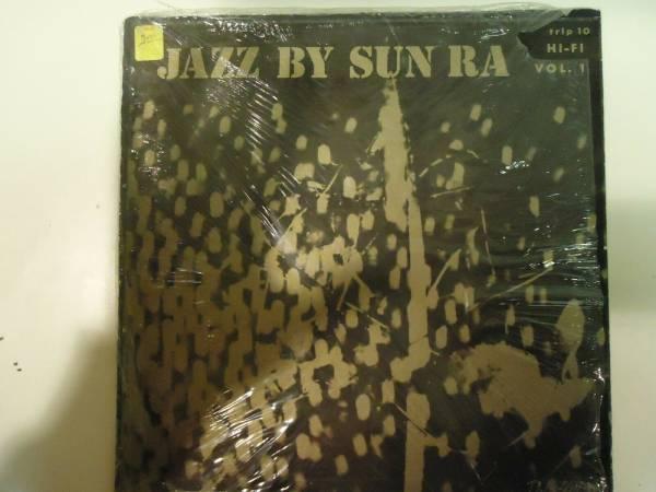 original 1957 Sun Ra JAZZ BY SUN RA TRANSITION LP