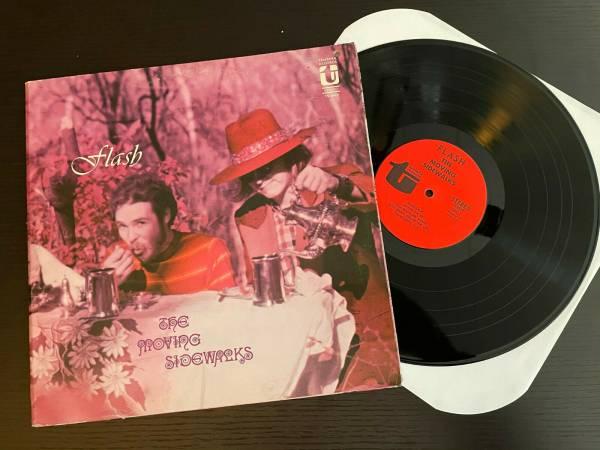 THE MOVING SIDEWALKS Flash ORIG  68 TANTARA LP Pre ZZ Top TEXAS PSYCH BLUES FUZZ