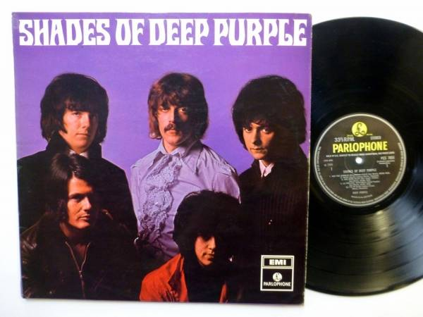 DEEP PURPLE Shades Of LP Parlophone7055 1st Uk press 1968 stereo   sm1150