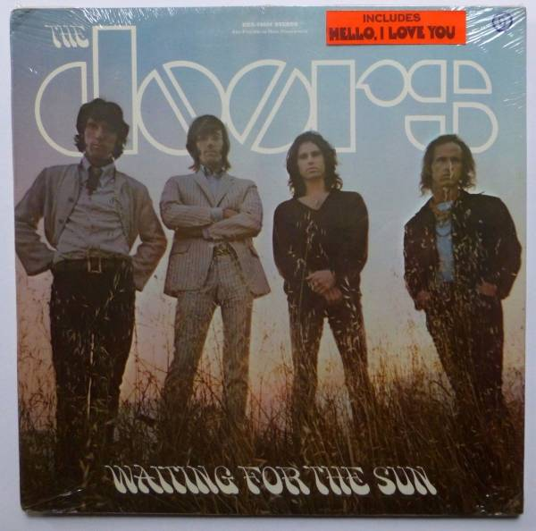 the DOORS Waiting for the sun LP SEALED Orig Press w HYPE STICKER    sm1290