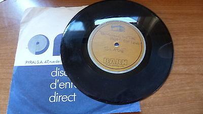 Slade   Burning In The Heat Of Love 1977 UK 45 7  ACETATE