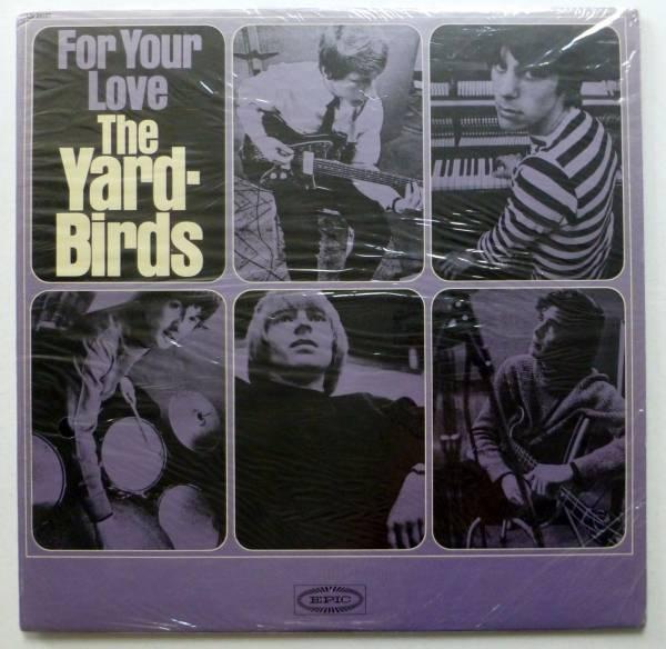 YARDBIRDS For Your Love LP SEALED 1st U S  press JEFF BECK Blues Rock   sm1312
