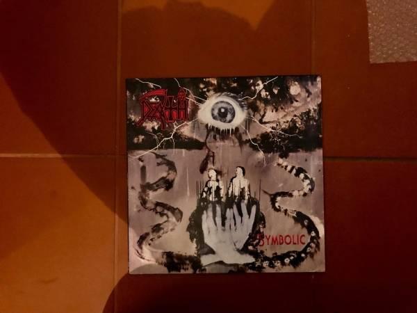 Death   Symbolic LP RARE original press 1995 roadrunner records