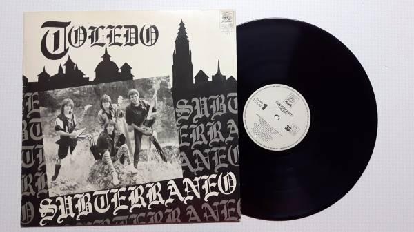 SUBTERRANEO toledo LP RARE ORIGINAL 1987 SPANISH PRIVATE HEAVY METAL MINT  SPAIN