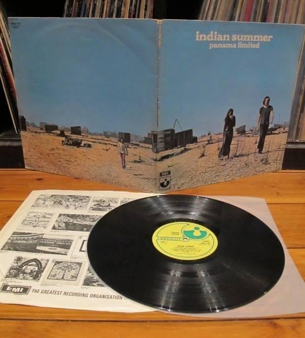 PANAMA LIMITED   INDIAN SUMMER   UK 1st Press Harvest   Prog blues   VG  LP