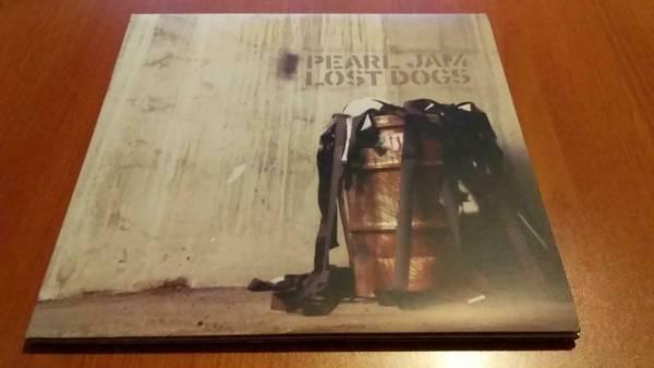 PEARL JAM Lost Dogs 3 LP vinyl