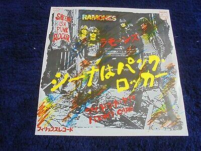 Ramones   Sheena Is A Punk Rocker 1977 JAPAN 45 PHILIPS PUNK KBD