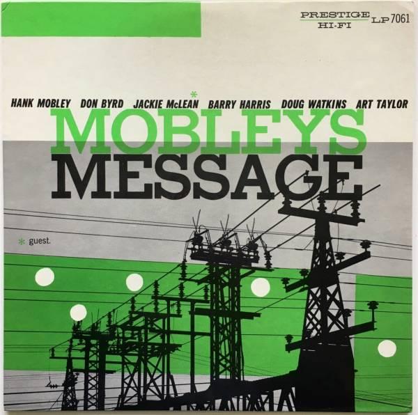 HANK MOBLEY  Mobleys message  Prestige LP 7061  First press
