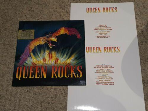 QUEEN MEGA RARE  Queen Rocks 2LP 1997 UK PHOENIX SLEEVE LIMITED EDITION OF 1000