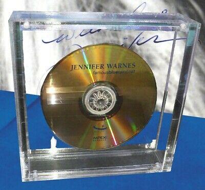 Jennifer Warnes   Famous Blue Raincoat Ltd  Numbered Crystal Disc CD   Booklet