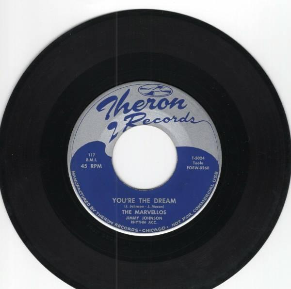Marvellos 45 You re the Dream Calypso Mama THERON orig RARE doowop VG  750