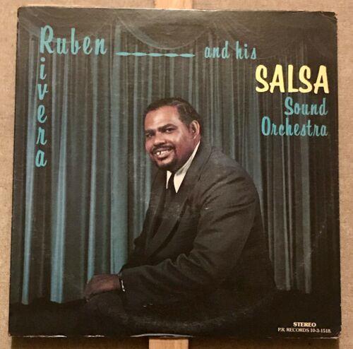 Orig Ruben Rivera And His Salsa Sound Orchestra ORIGINAL USA PRESS Latin LP