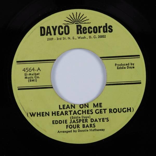 Northern Deep Soul 45 EDDIE JASPER DAYE S FOUR BARS Lean On Me    DAYCO HEAR
