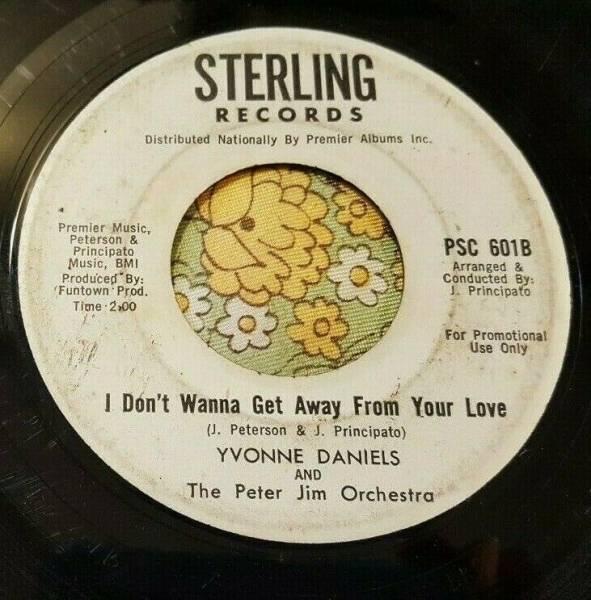 Northern Soul Original 45 Yvonne Daniels I Don t Wanna Get Away   I Love It HEAR