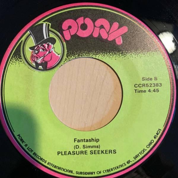 Modern Soul Stepper Funk 45 PLEASURE SEEKERS fantaship PORK listen