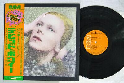DAVID BOWIE Hunky Dory RCA RCA 6005 Japan GLAMROCK OBI VINYL LP