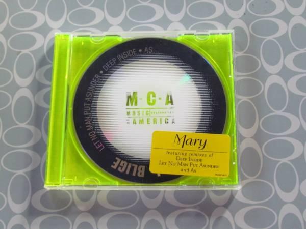 Mary J  Blige Promo CD Single Let No Man Put Asunder Deep Inside As Remixes