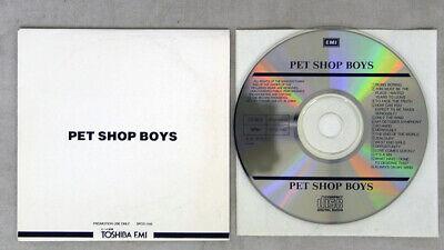 PET SHOP BOYS SAME TOSHIBA EMI PROMO 1CD