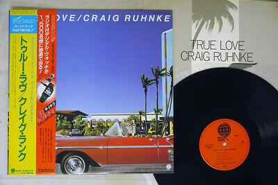 CRAIG RUHNKE TRUE LOVE OVERSEAS SUX 243 V Japan OBI VINYL LP