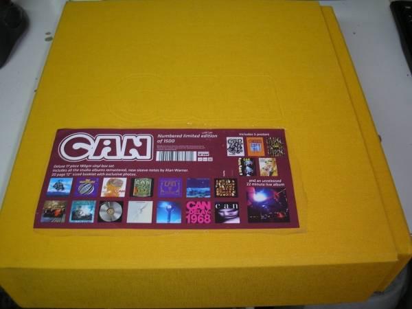 Can   s t 17 x LP box set Spoon ltd edition  ed 180 gram vinyl w  posters