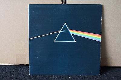 PINK FLOYD DARK SIDE OF THE MOON FIRST PRESS UK BLUE SOLID TRIANGLE LP COMPLETE