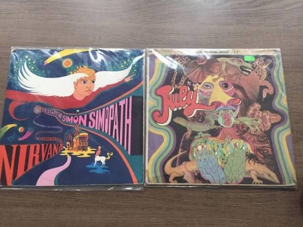 July 1968 and Nirvana  Story of Simon Simonpath 1967  UK Monster Psych Pokora LP