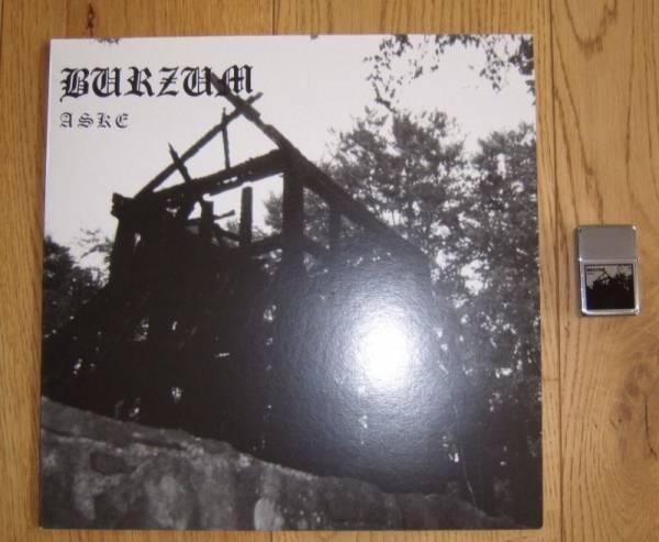 BURZVM   Aske   Vinyl ink  Zippo   white splatter   very Rare   Mayhem   KULT