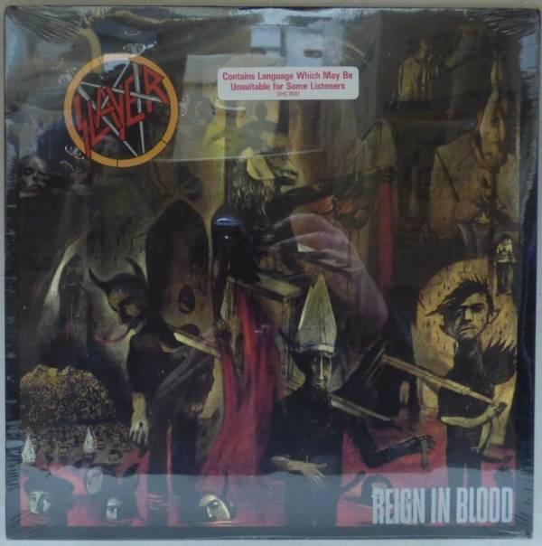 SLAYER   REIGN IN BLOOD   ORIGINAL USA 1986 STILL SEALED LP