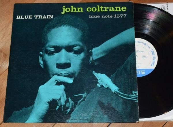 John Coltrane Blue Train EX  No R No INC W63 DG Blue Note lp 1577 Lee Morgan