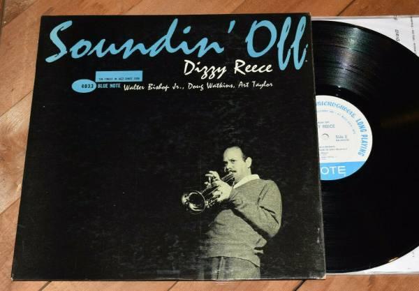 Dizzy Reece Soundin  Off EX  1st DG Ear W63 Blue Note lp Doug Watkins Art Taylor