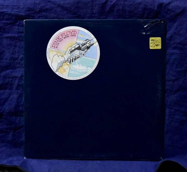 PINK FLOYD MEGA RARE SEALED LP WISH YOU WERE HERE 1975 USA 1stPRESS W STICKER