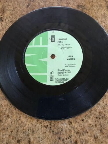 Mega Rare Iron Maiden Twilight Zone 7    Single Irish