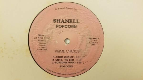 POPCORN Prime Choice SHANELL Private Miami Modern Soul Boogie Funk Disco LP