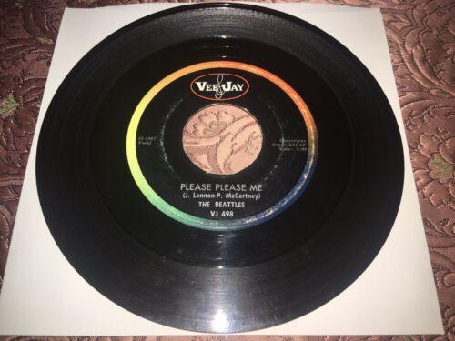 The Beatles Beattles Please Please Me Ask Me Why Misprint 1st Mono 45 Vee Jay