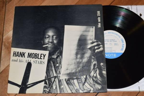 Hank Mobley All Stars M   W63 DG Ear Blue Note lp 1544 Horace Silver Art Blakey