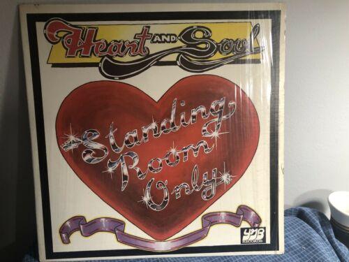 Mega Rare LP Original Private Funk soul Boogie STANDING ROOM ONLY Heart   Soul