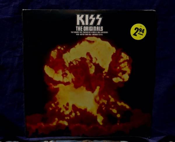 KISS MEGA RARE SEALED 3LP THE ORIGINALS 1976 USA  1stPRESS NO CUTOUTS OR BARCODE