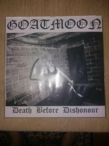 GOATMOON DEATH BEFORE DISHONOUR LP  FIRST PRESS VOTHANA