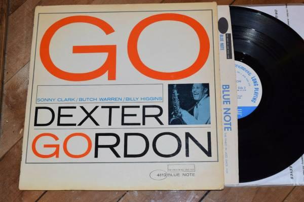 Dexter Gordon Go EX PROMO 1st Ear NY Mono Blue Note lp Sonny Clark Billy Higgins