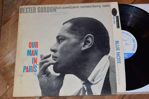 Dexter Gordon Our Man In Paris VG   NY Ear Mono Blue Note lp Bud Powell