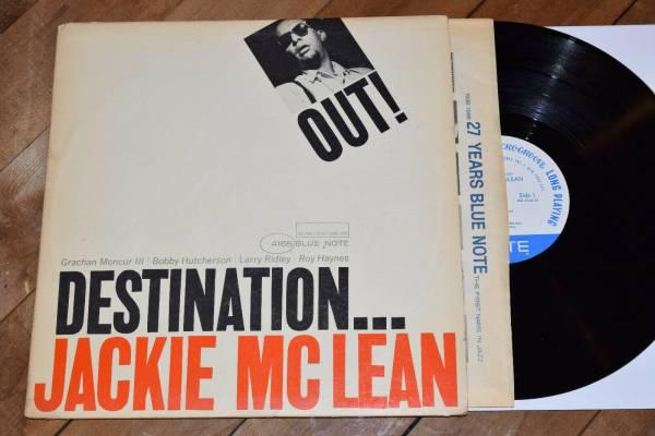 Jackie McLean Destination Out NM  NY Mono RVG Blue Note lp Bobby Hutcherson