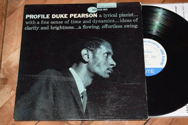 Duke Pearson Profile PLAYS CLEAN  1st DG Ear W63 Blue Note lp 4022 RVG