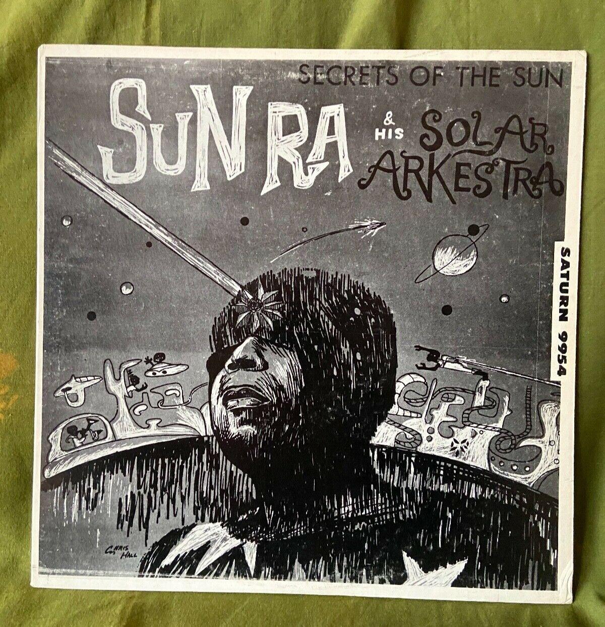 Sun Ra Secrets Of The Sun orig Saturn LP EX  EX  Cosmos Spiritual Jazz