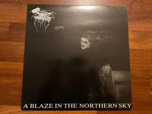Darkthrone   A Blaze In The Northern Sky LP 1991 FIRST PRESS  VILE 28