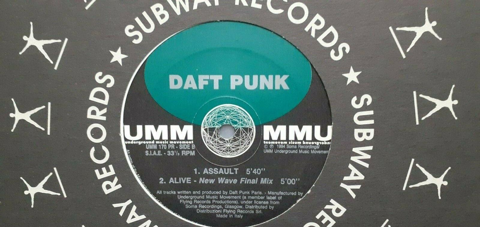 Daft Punk    The New Wave UMM        UMM 170 PR mix 12  record 1994