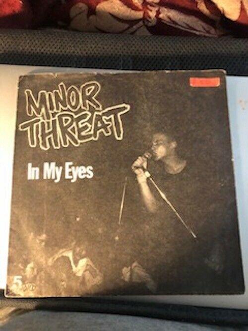 Minor Threat In My Eyes Us 45 7  Original First Pressing Red Vinyl